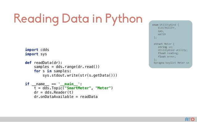 Reading Data in Python enumUtilityKind{  ELECTRICITY,  GAS,  WATER };  struc...