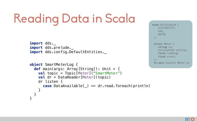 Reading Data in Scala enumUtilityKind{  ELECTRICITY,  GAS,  WATER };  struct...