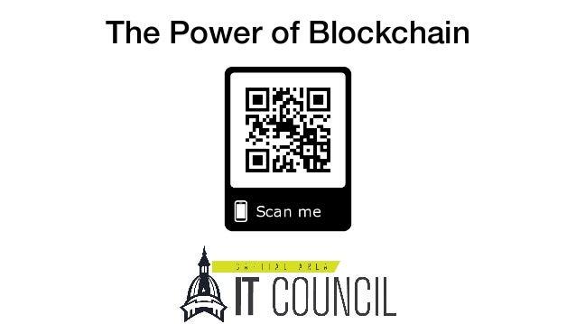 The Power of Blockchain