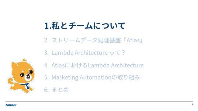 AWSで作るリアルタムMA・コスト効率と性能を追求したLambda Architecture Slide 3