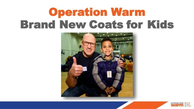 Operation Warm Brand New Coats for Kids 1