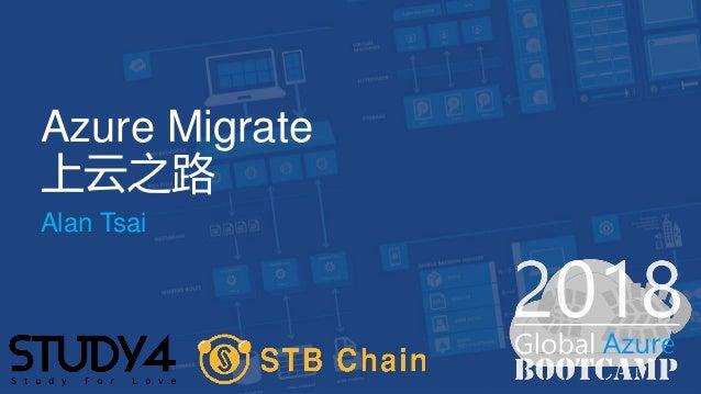 Azure Migrate 上云之路 Alan Tsai