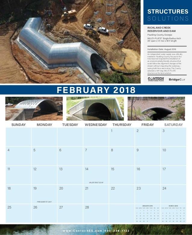 2018 Contech Calendar Slide 3