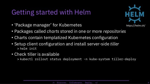 Continuous Delivery to Kubernetes with Jenkins and Helm