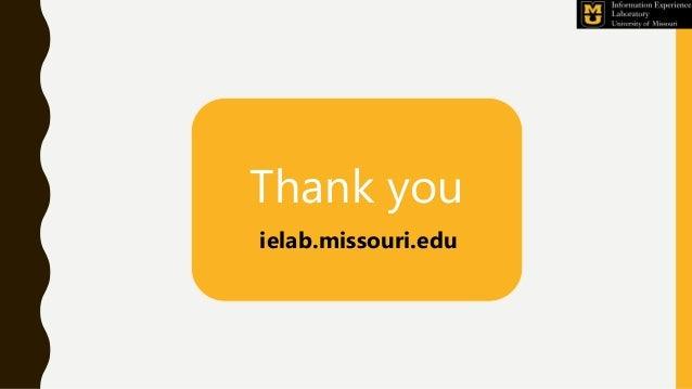 Thank you ielab.missouri.edu