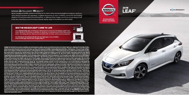 SEE THE NISSAN LEAF® COME TO LIFE Go To NissanUSA.com And Find An ...