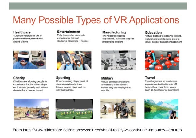 COMP 4010 Lecture 6: VR Applications