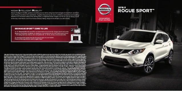 Nissan El Paso >> 2018 Nissan Rogue Sport Brochure Casa Nissan El Paso New Used Car