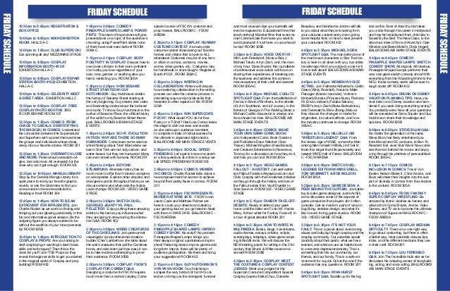 Raleigh Supercon 2018 Program Guide