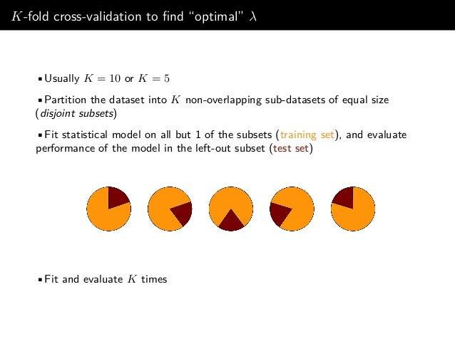 5-fold cross-validation (Diabetes data)