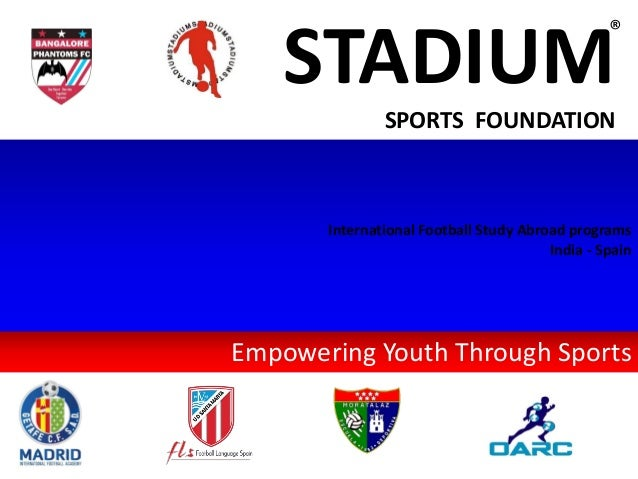 2018 stadium sports foundation - introduction