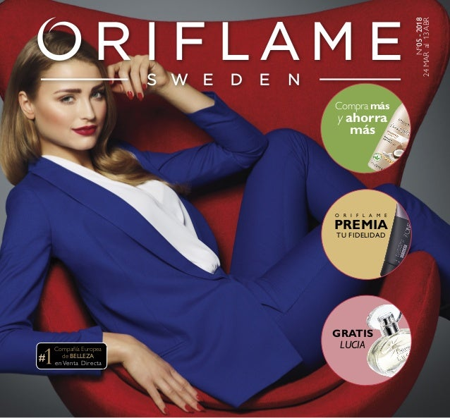 ac18b3a9c0583 Catalogo 05 - 2018 Oriflame Colombia