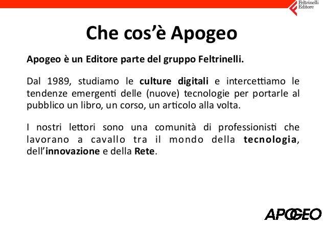 Collabora con Apogeo Slide 2