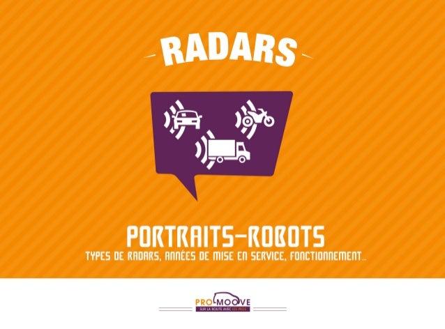 Radars - Portraits-robots