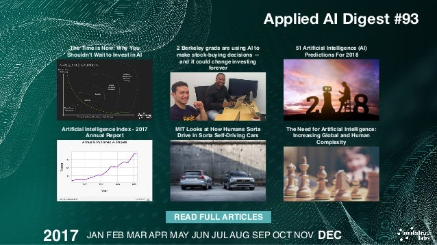 Applied artificial intelligence digest 2017 review 58 stopboris Gallery