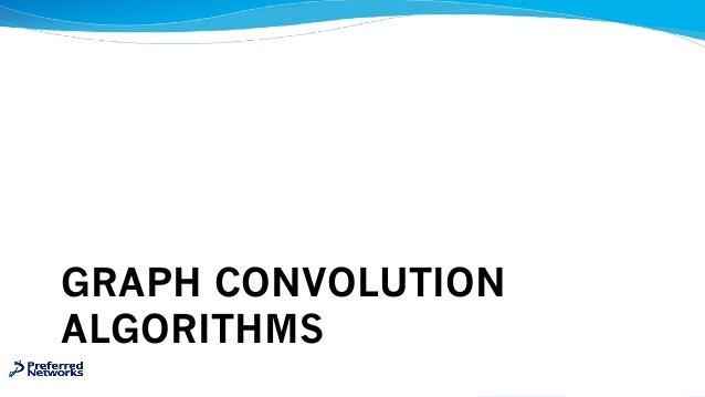 GRAPH CONVOLUTION ALGORITHMS