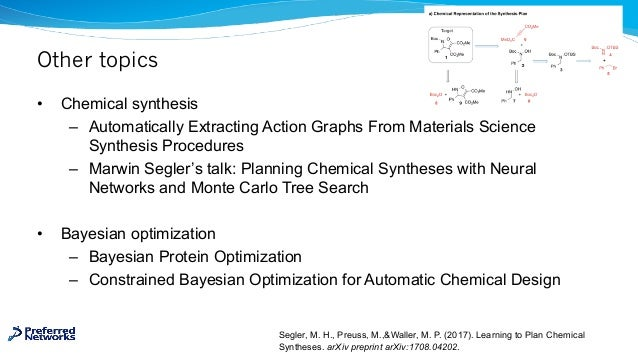 Other topics • Chemical synthesis – Automatically Extracting Action Graphs From Materials Science Synthesis Procedures – M...