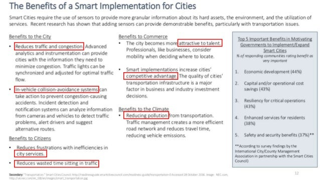 """""""to serve as models for cities looking to become smarter"""" https://www.transportation.gov/smartcity/winner"""