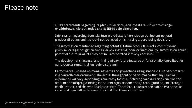 Quantum Computing (IBM Q) - Hive Think Tank Event w/ Dr. Bob Sutor - 02.22.18 Slide 2