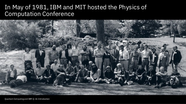 Quantum Computing (IBM Q) - Hive Think Tank Event w/ Dr. Bob Sutor - 02.22.18 Slide 3