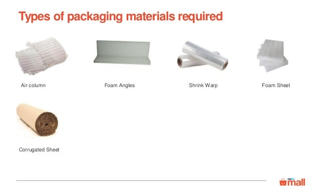 Packaging guidelines for all categories