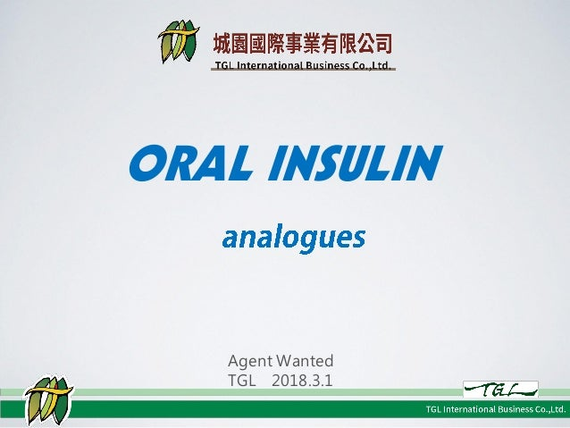 20180301oral insulin analogues ENG