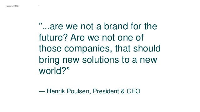 ºMarch 2018 How do we create a genuine brand that will inspire change towards green energy? Our challenge