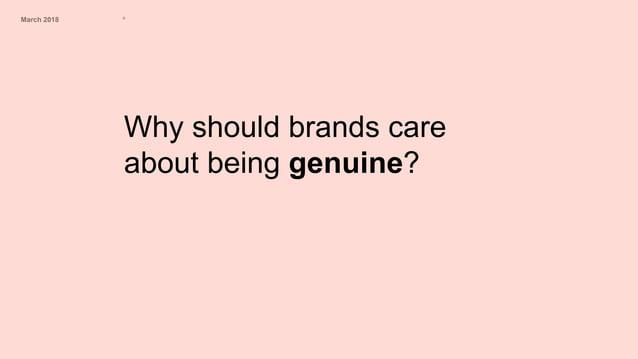 March 2018 º Brand Consumer Yesterday