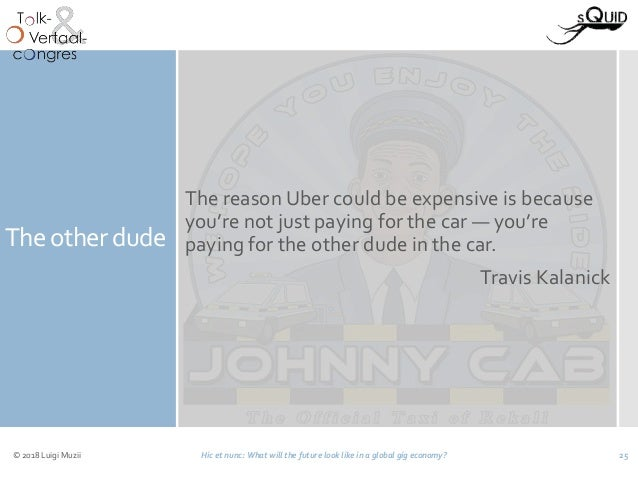The other dude The reason Uber could be expensive is because you're not just paying for the car — you're paying for the ot...