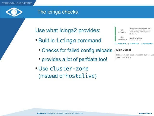 2  Icinga Meetup Zurich - Monitor your Monitoring