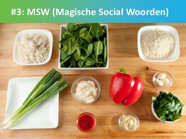 #3: MSW (Magische Social Woorden) 27
