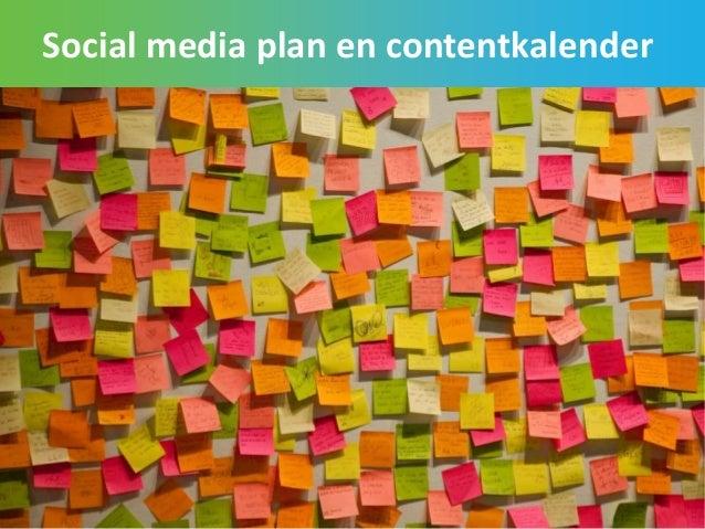 Social media plan en contentkalender 68