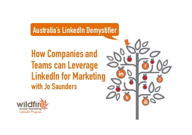 How Companies and Teams can Leverage LinkedIn for Marketing with Jo Saunders Australia's LinkedIn Demystifier