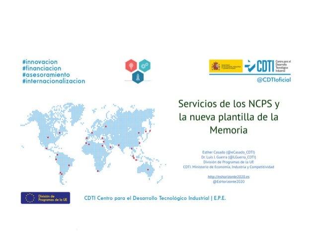 20180404 Servicios de NCP de Instrumento PYME y la plantilla