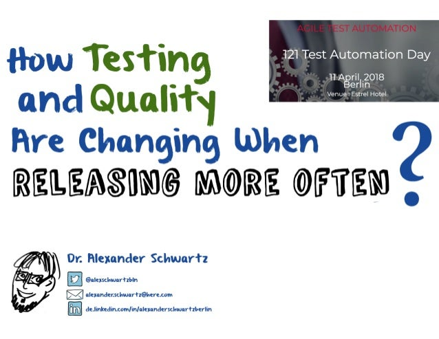 How Testing and Quality Are Changing When Releasing More Often?
