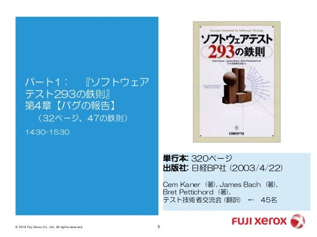20180421 Issueの書き方と伝えかた勉強会 Slide 3