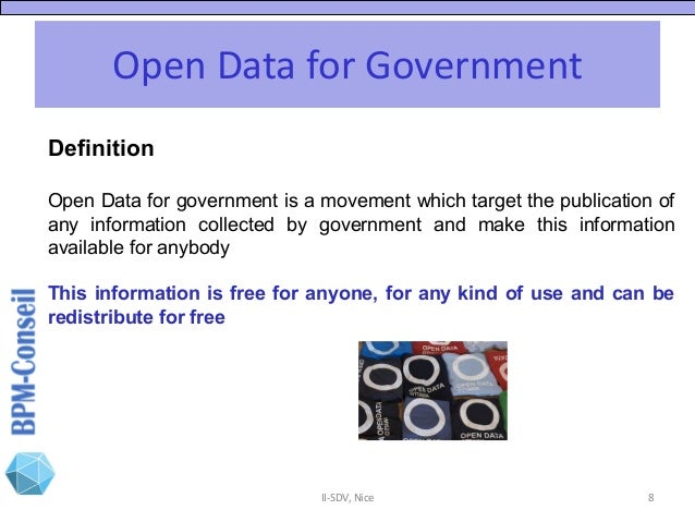 IC-SDV 2018: Patrick Beaucamp (Bpm-Conseil) A journey in Open Data
