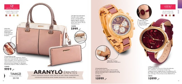 A táskát megtekintheti 360ºban  www.oriflame.hu accessories  47. 88 89  TAVASZI ... ae92fb76b8