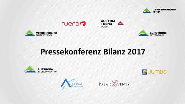 Verkehrsbüro Group Bilanz 2017 Slide 2