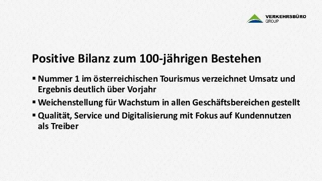 Verkehrsbüro Group Bilanz 2017 Slide 3