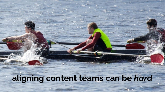 Stronger together:  how to build your cross-team content engine Slide 2