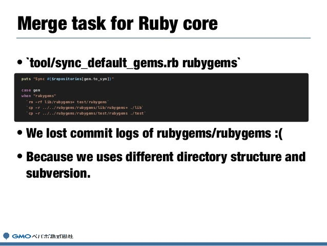 • Removed deprecated methods. • Removed to support for < Ruby 2.2. • Added warnings of deprecated methods. • To use modern...