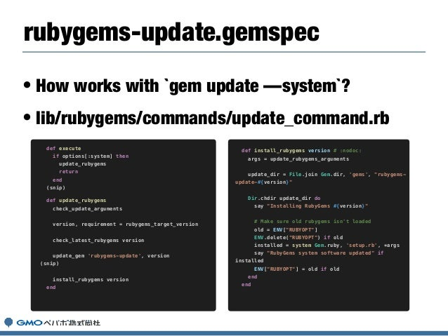 • I try to upgrade Molinillo-0.6.x on RubyGems. • https://github.com/rubygems/rubygems/pull/2026 • And fix issues about res...