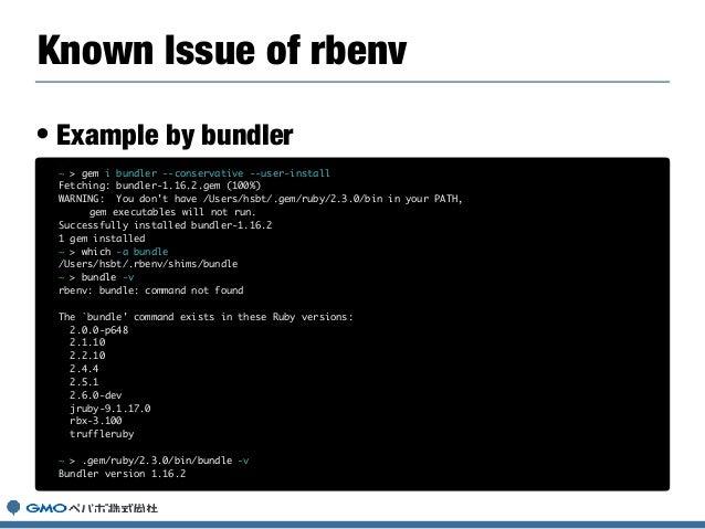 Gem install bundler ruby version   The Ultimate Guide to Ruby Gems
