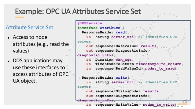 Deep Dive into the OPC UA / DDS Gateway Specification