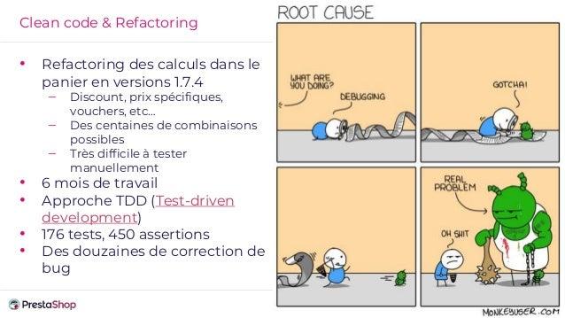 Clean code & Refactoring • Refactoring des calculs dans le panier en versions 1.7.4 – Discount, prix spécifiques, vouchers...