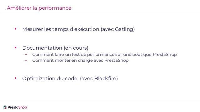Améliorer la performance PrestaShop 1.7.4 Nouveau menu back office : Perf +70 %