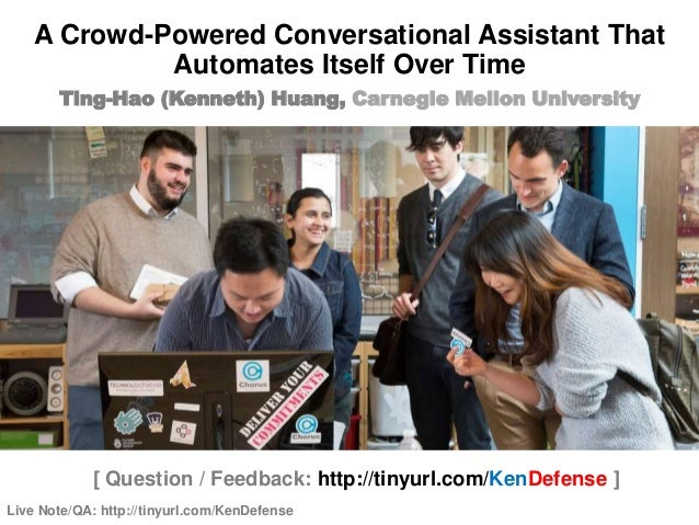 Live Note/QA: http://tinyurl.com/KenDefense 1 / 85 [ Question / Feedback: http://tinyurl.com/KenDefense ] Ting-Hao (Kennet...