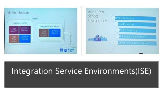 Integration Service Environments(ISE)