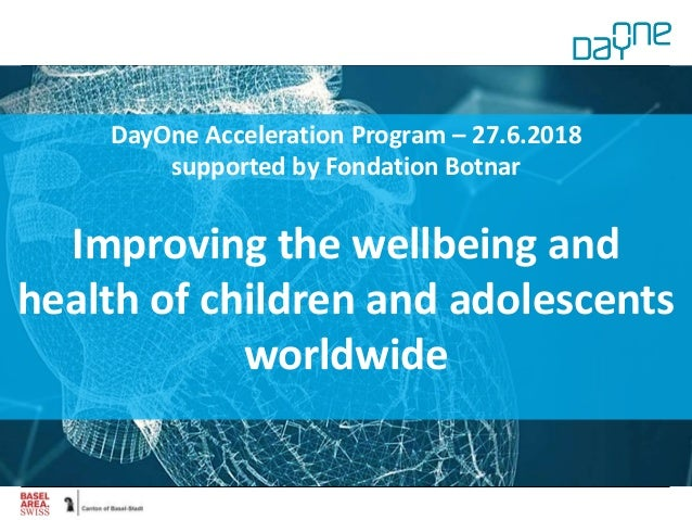 DayOne Core Team Experts from across industry and stakeholders Michael Rebhan, Novartis Peter Groenen, Idorsia Alain Binde...